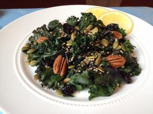 Blanched Kale Salad
