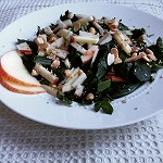 Collard Apple Salad