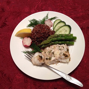 Fish Orange Roughy Quinoa 300