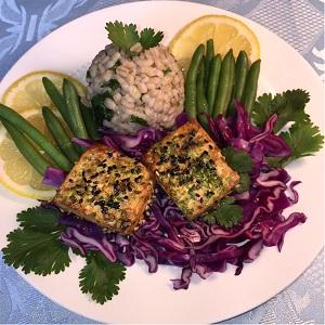 Tofu barley Cabbage
