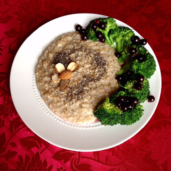 Oatmeal Broccoli